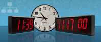 Relojes de pared digital grande Sincronizado