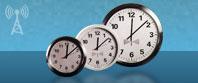 analógico controlado reloj ethernet de radio